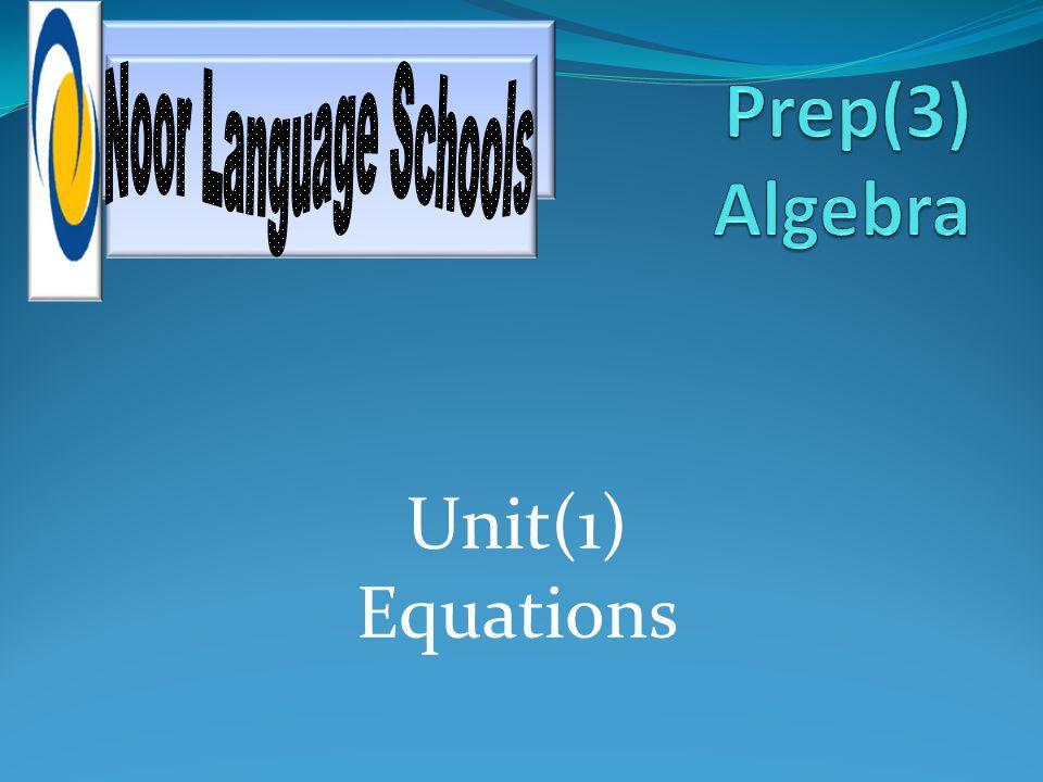 Unit(1) Equations
