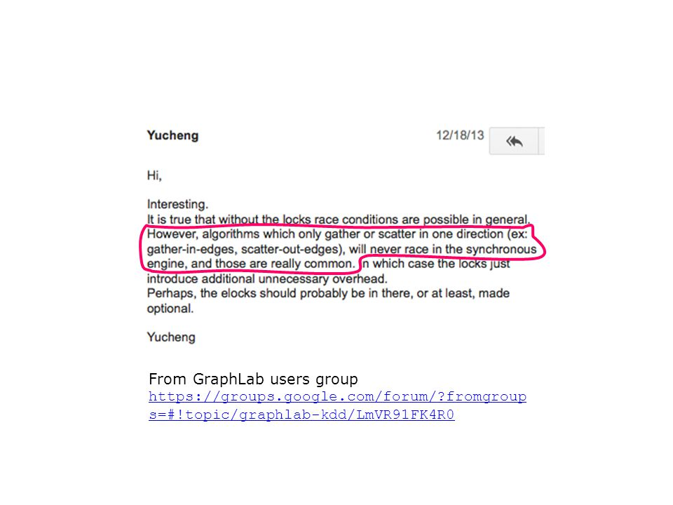 From GraphLab users group https://groups.google.com/forum/?fromgroup s=#!topic/graphlab-kdd/LmVR91FK4R0