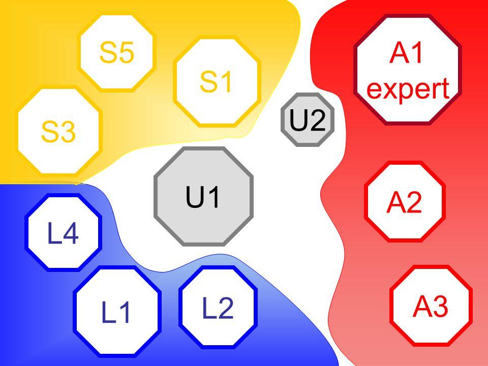 A1 expert A2 A3 L2 L1 L4 S1 S5 S3 U2 U1