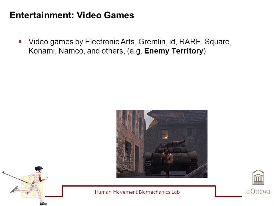 Entertainment: Video Games  Video games by Electronic Arts, Gremlin, id, RARE, Square, Konami, Namco, and others, (e.g.