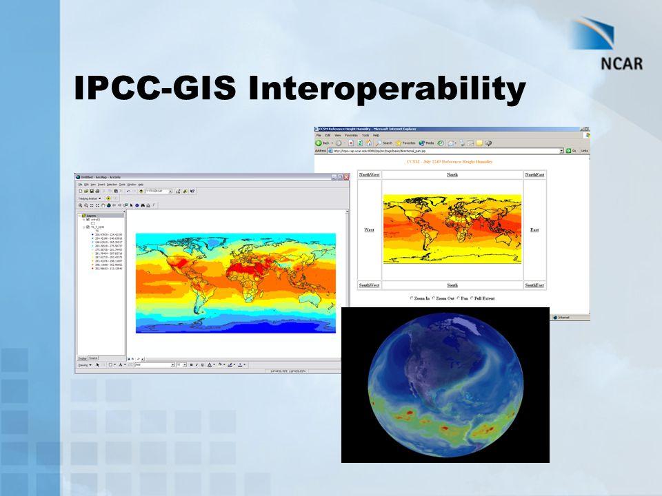 IPCC-GIS Interoperability