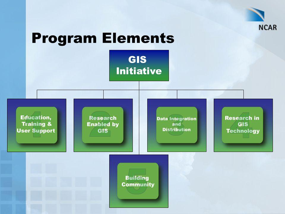 Program Elements GIS Initiative