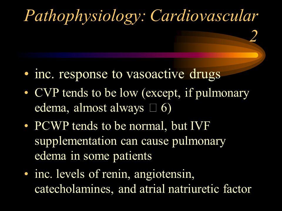 Pathophysiology: Cardiovascular 2 inc.