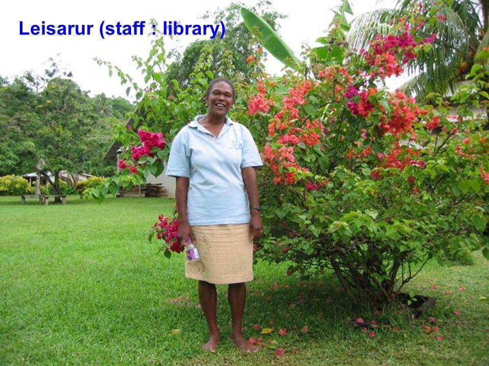 Leisarur (staff : library)