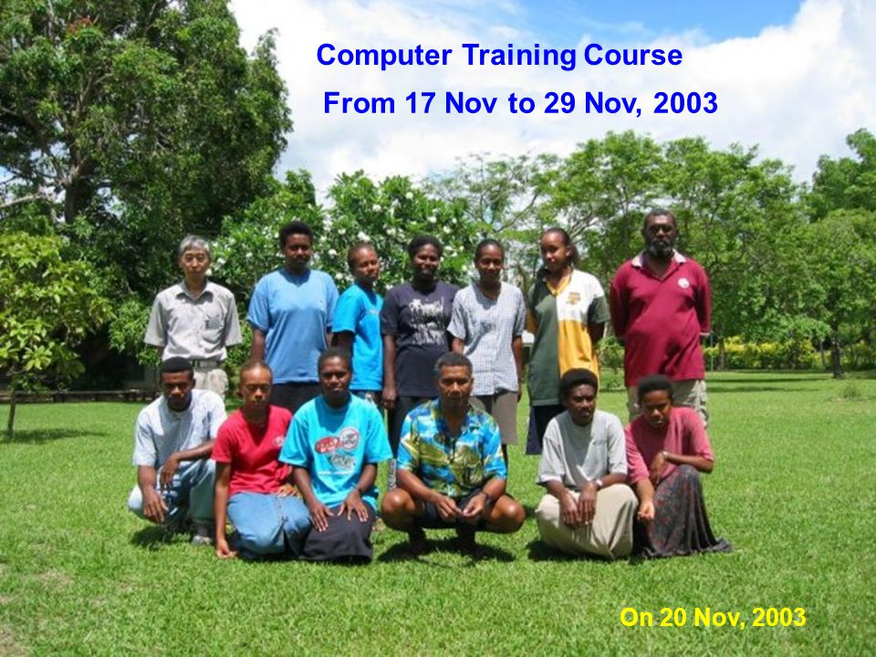 Computer Training Course 2 weeks course in Santo
