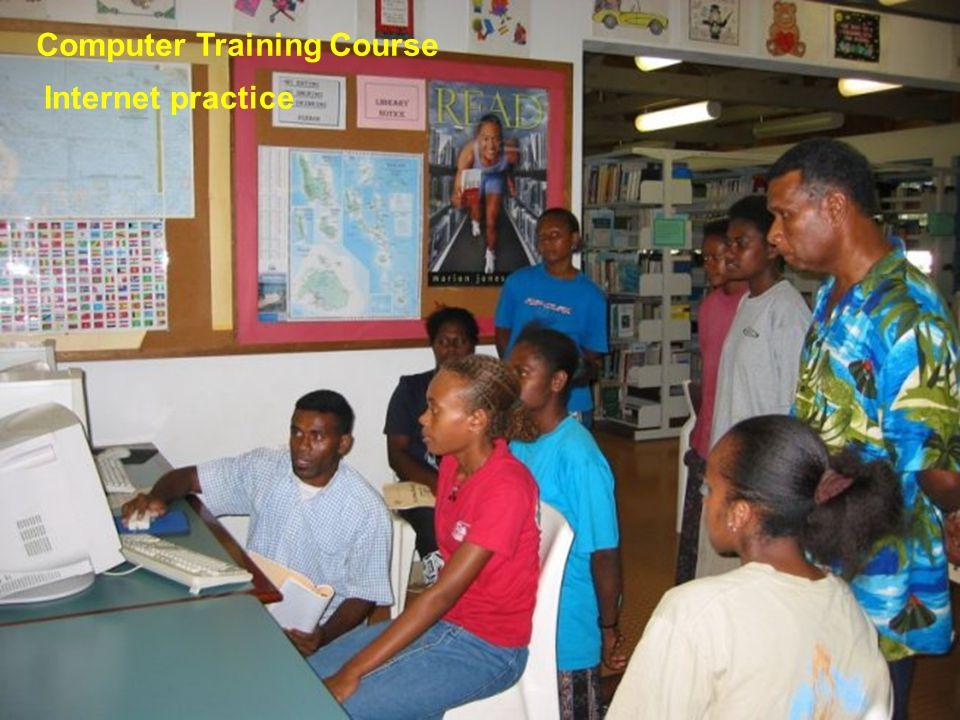 Computer Training Course On 28 Nov, 2003