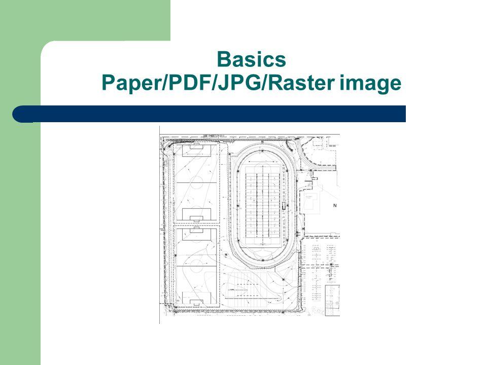 Basics Paper/PDF/JPG/Raster image