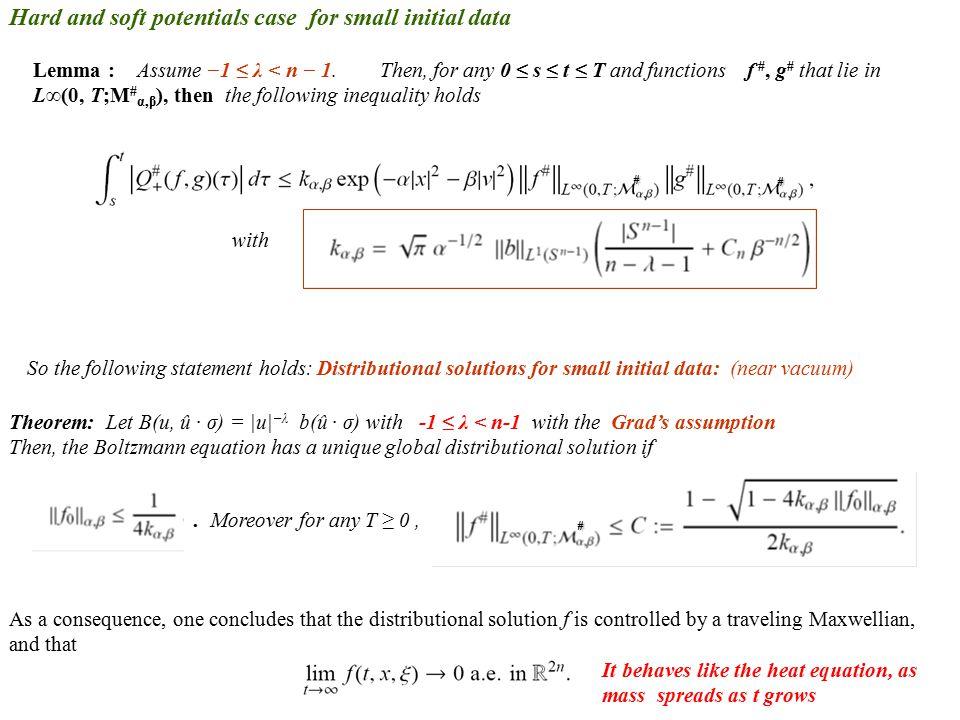 Lemma : Assume −1 ≤ λ < n − 1.