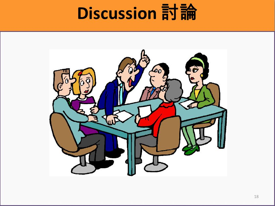 18 Discussion 討論