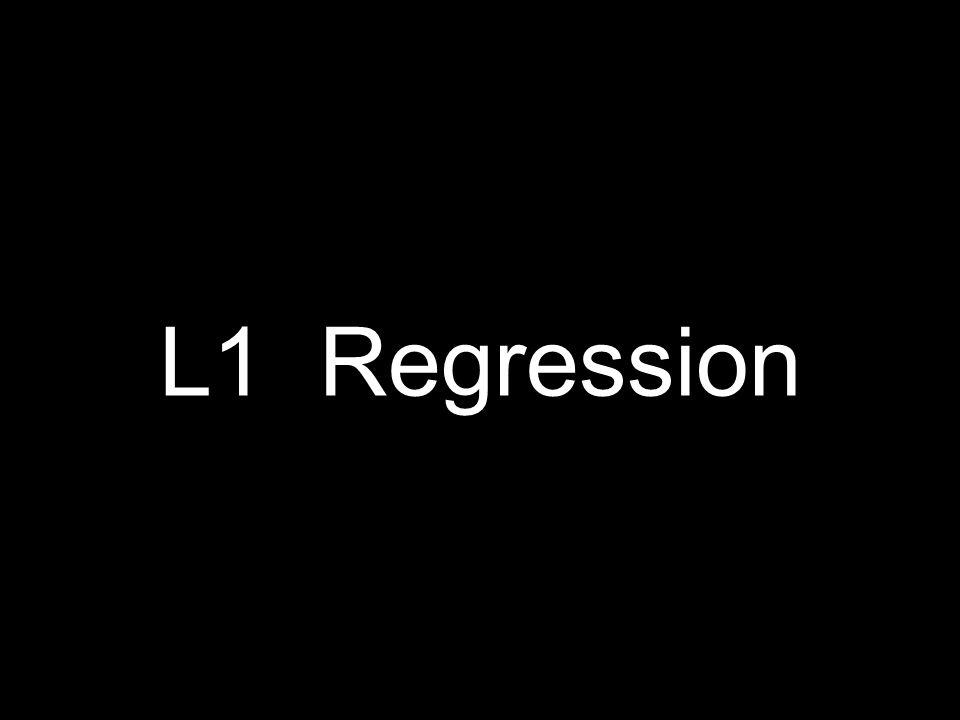 L1 Regression