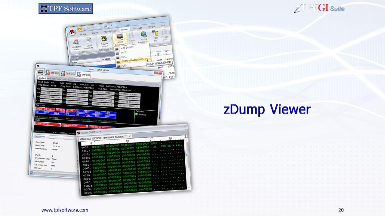 www.tpfsoftware.com Suite 20