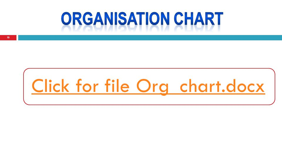 15 Click for file Org_chart.docx