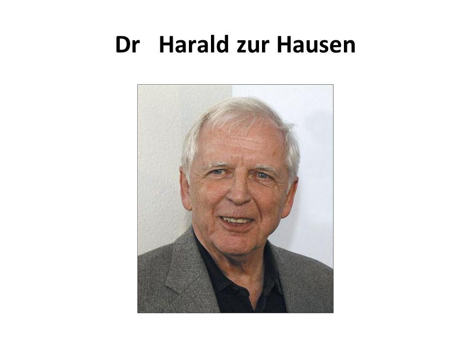 Dr Harald zur Hausen
