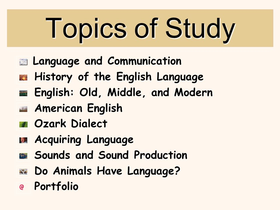 Language and Communication  What are the characteristics of language.