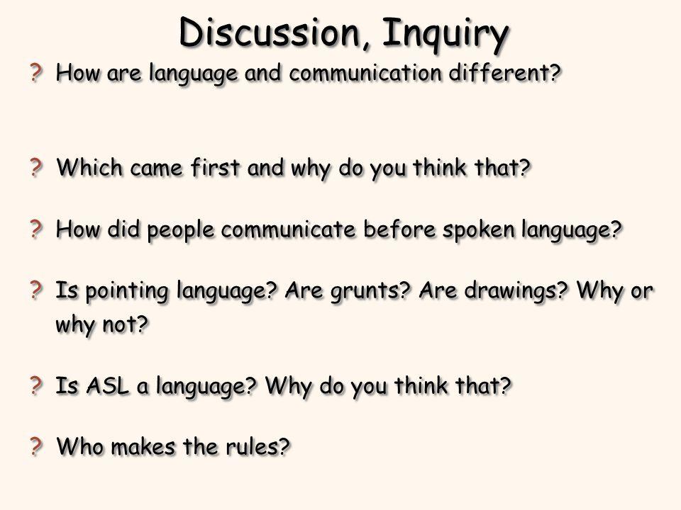 Acquiring Language Stages of Language Acquisition Theories of Language Acquisition Be a Linguist Stages of Language Acquisition Theories of Language Acquisition Be a Linguist