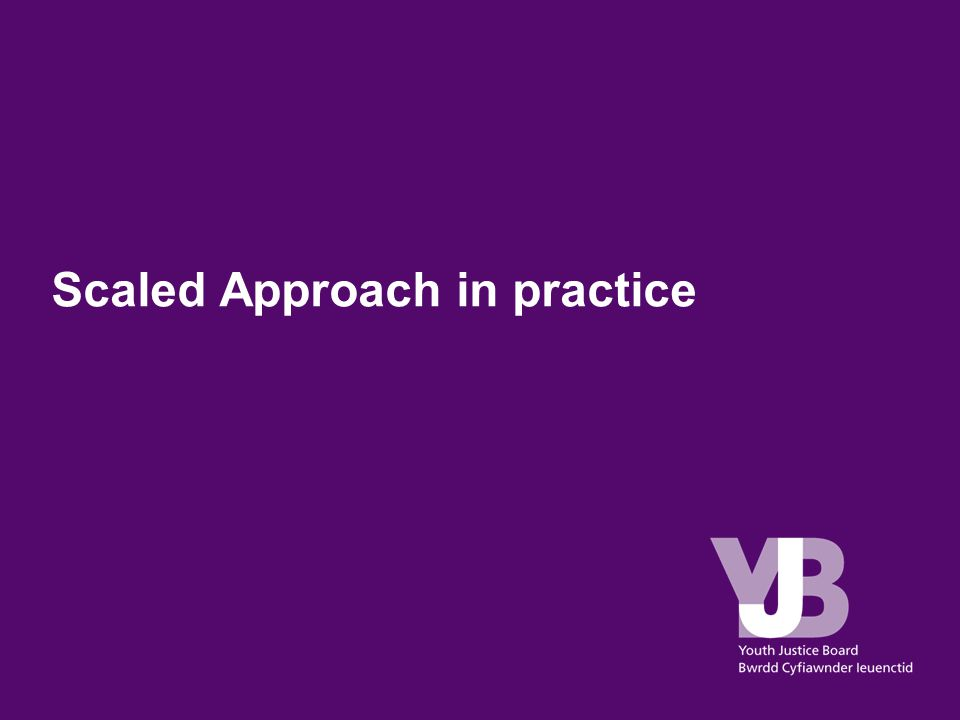 Scaled Approach in practice