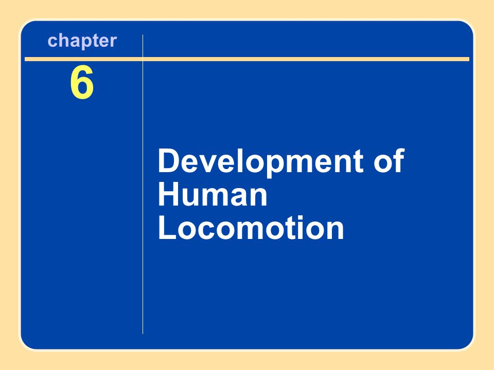 What Is Locomotion.Locomotion involves moving from place to place.