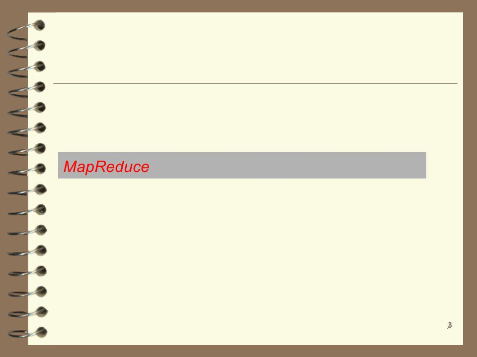 MapReduce 3 3