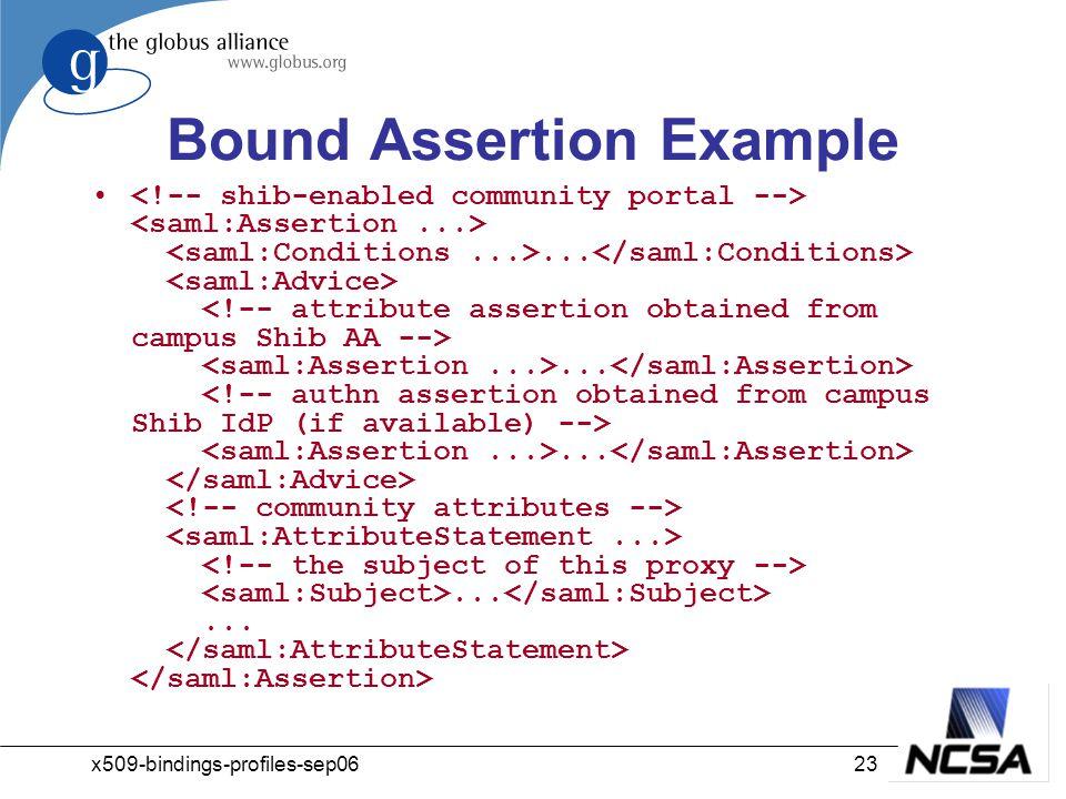 x509-bindings-profiles-sep0623 Bound Assertion Example...............