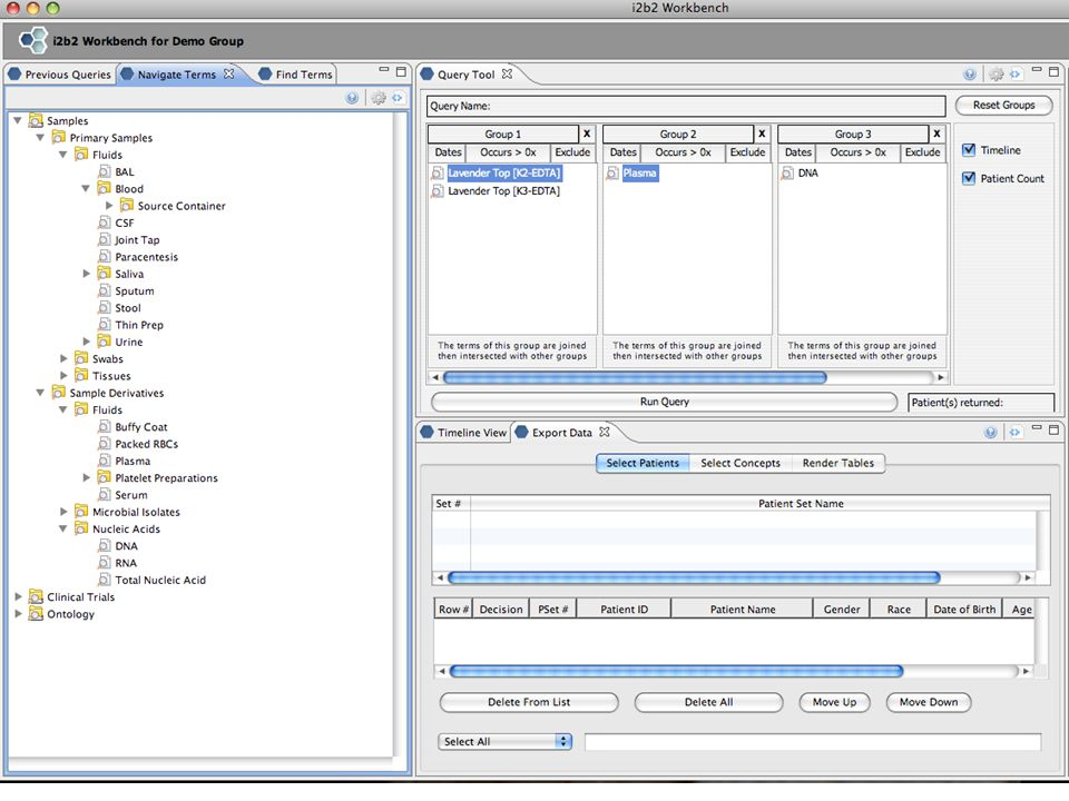 Sample Ontology Manager Source LIMS providing samples can map their local ontology into the Crimson cell via an adapter.