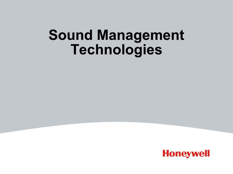 Sound Management Technologies