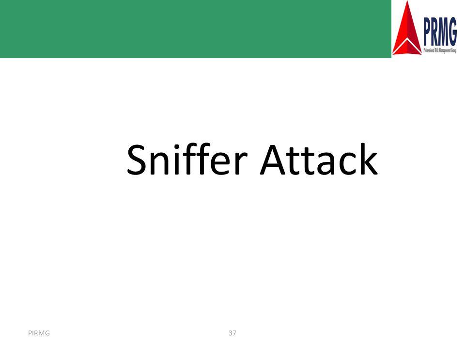 PIRMG37 Sniffer Attack