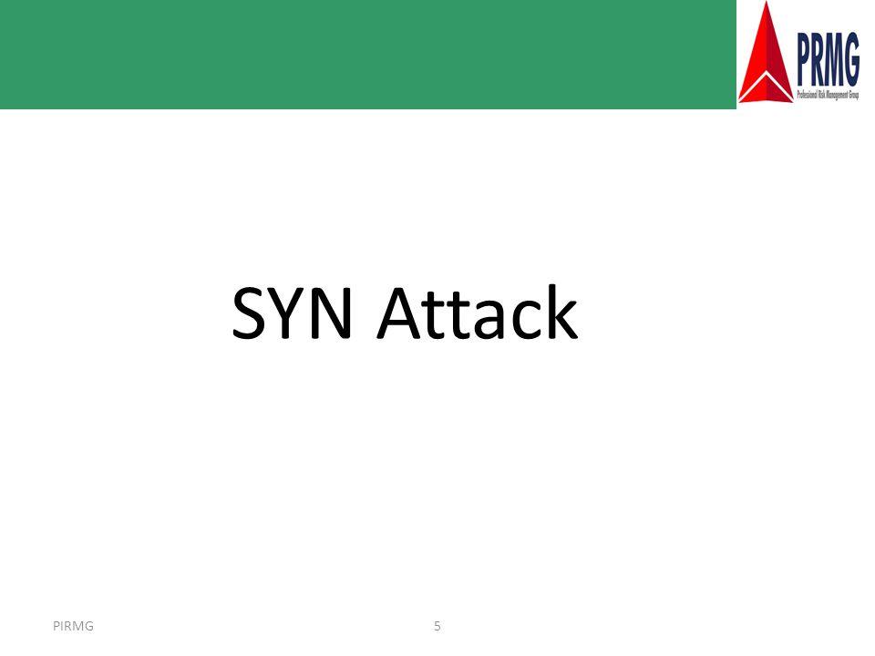 PIRMG5 SYN Attack