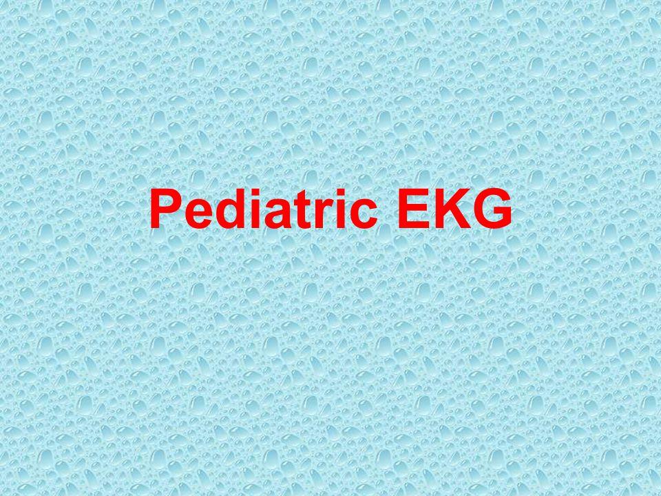 Pediatric EKG