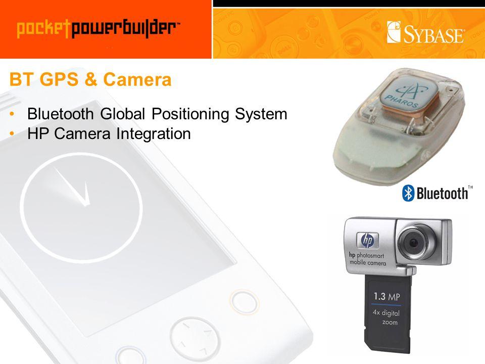 BT GPS & Camera Bluetooth Global Positioning System HP Camera Integration