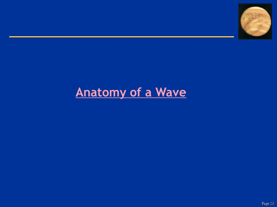 Page 23 Anatomy of a Wave