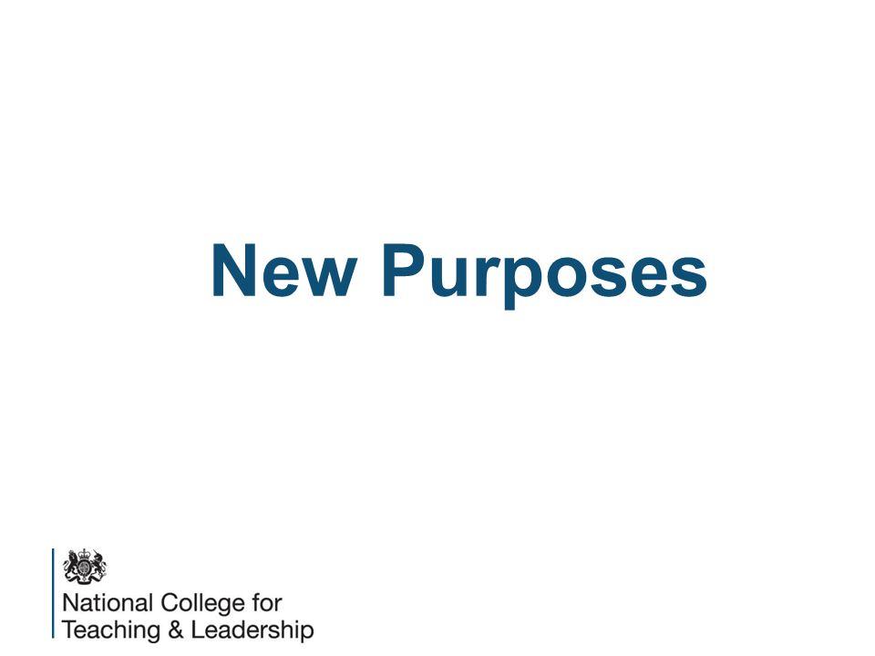 New Purposes