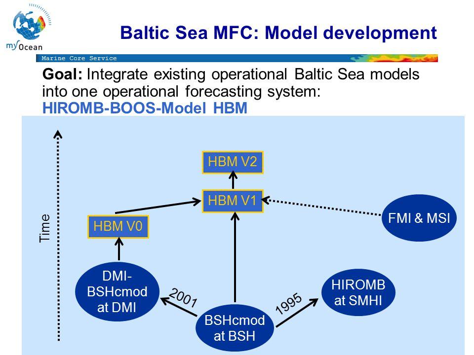 Marine Core Service http://www.myocean.eu/web/24-catalogue.php