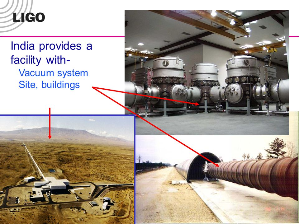 India provides a facility with- Vacuum system Site, buildings
