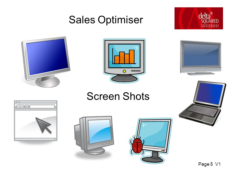 Page 5 V1 Screen Shots Sales Optimiser