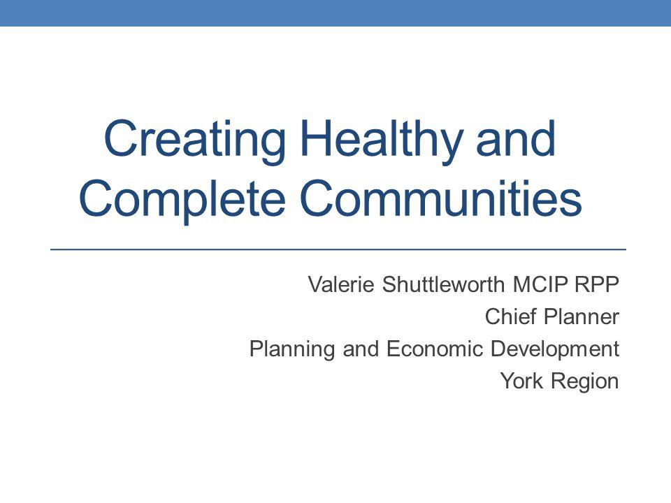 York Region Context