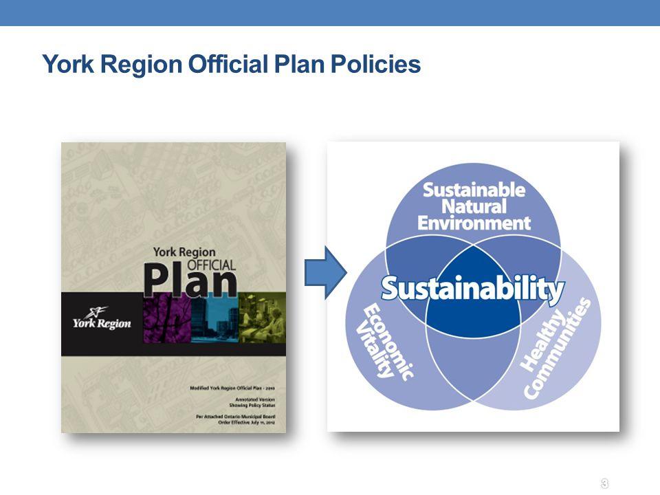 York Region Official Plan Policies