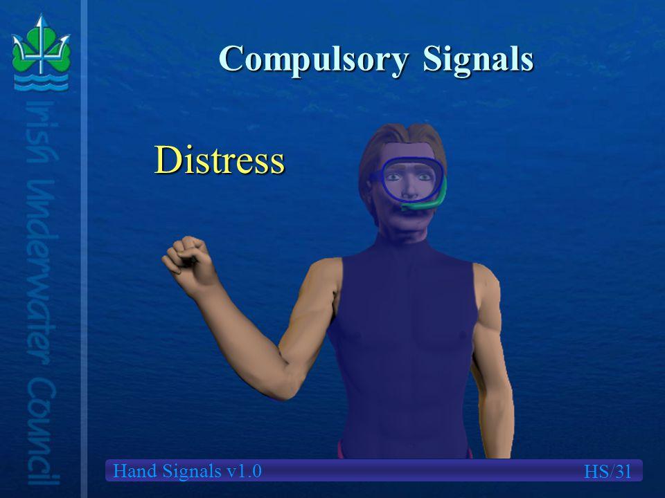 Hand Signals v1.0 Compulsory Signals Distress HS/3l