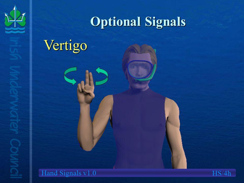 Hand Signals v1.0 Optional Signals HS/4h Vertigo