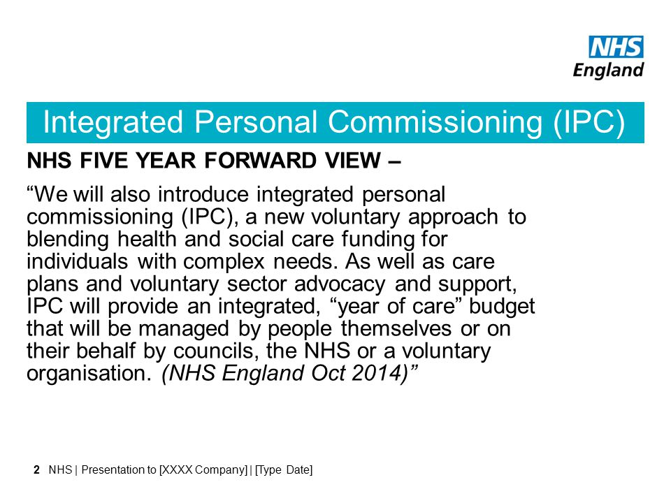 Who will it help improve care for.