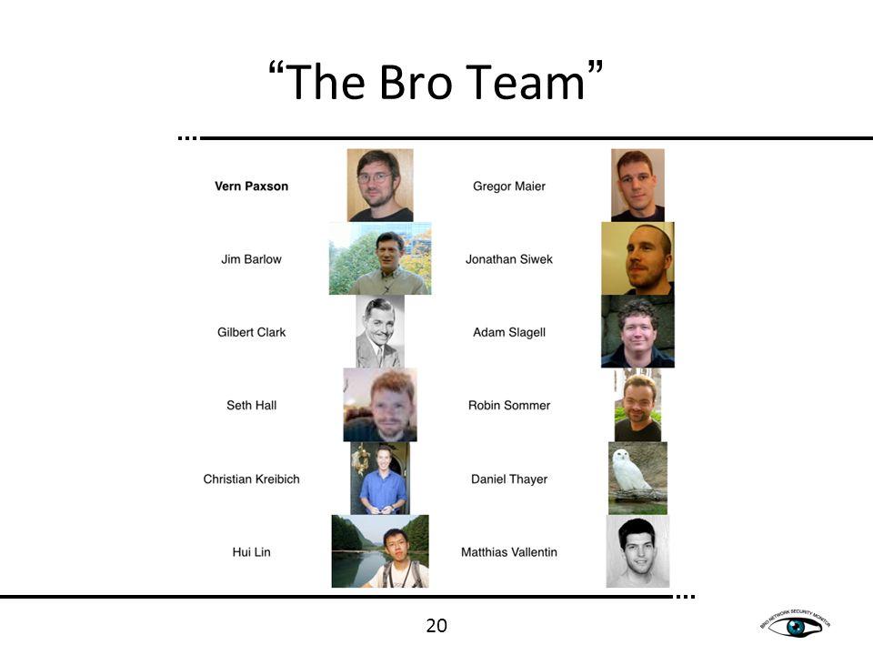 The Bro Team 20