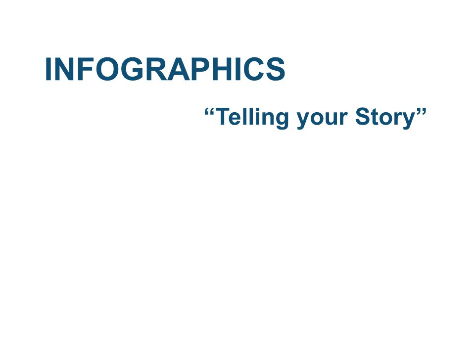 """INFOGRAPHICS """"Telling your Story"""""""