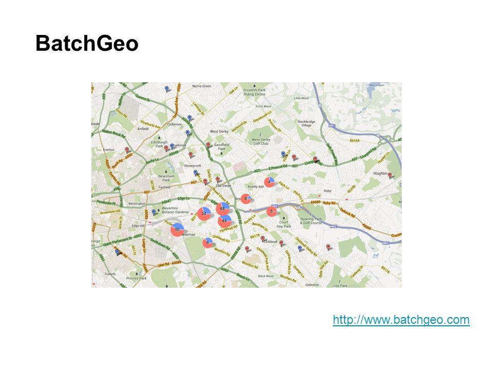 BatchGeo http://www.batchgeo.com