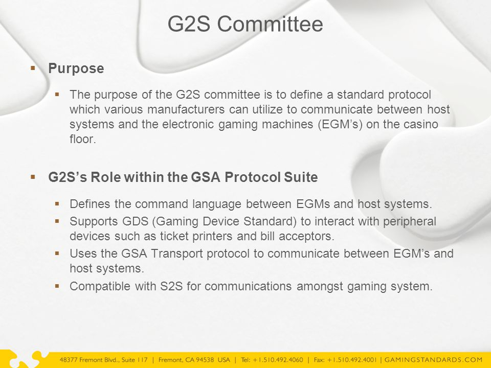 CIC Committee  Existing Information (available on GSA website)  GSA Certification Program  Certified product registry  Certification program guide  Certification process and requirements information  G2S Compliance Verification Tool (CVT) information