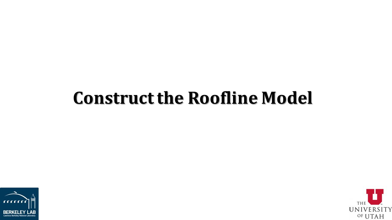 Construct the Roofline Model