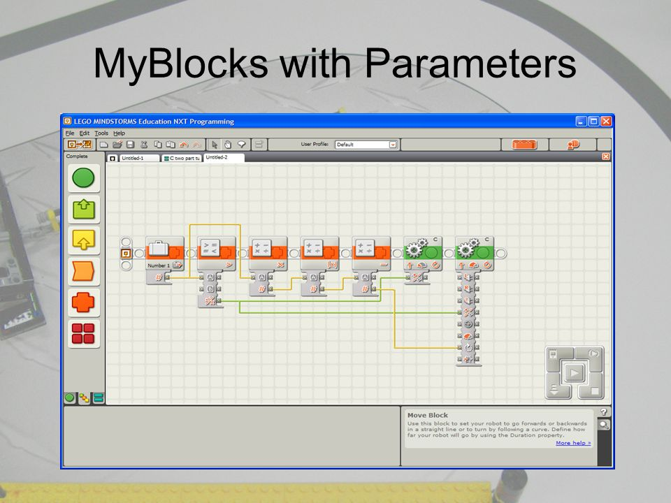 MyBlocks with Parameters