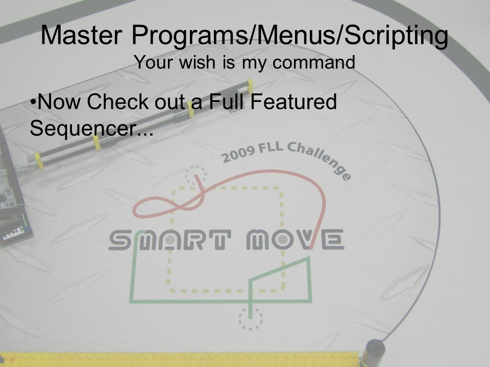 Now Check out a Full Featured Sequencer...