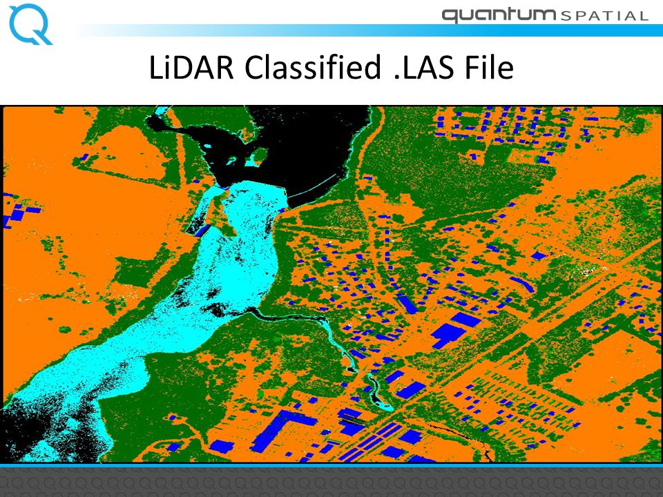 LiDAR Classified.LAS File