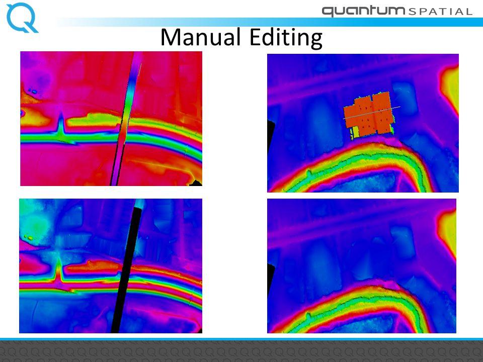 Manual Editing