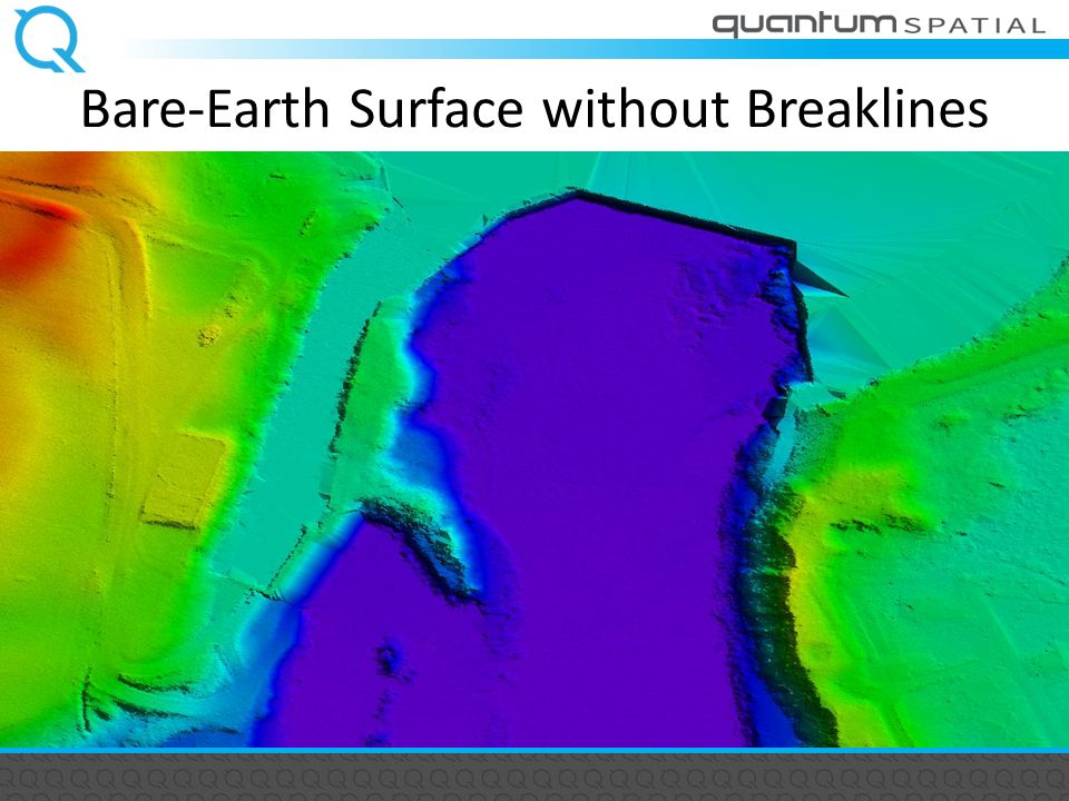 Bare-Earth Surface without Breaklines