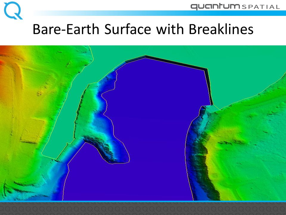 Bare-Earth Surface with Breaklines